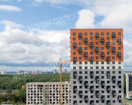 ЖК «Парковый квартал»: ход строительства, Июнь 2020