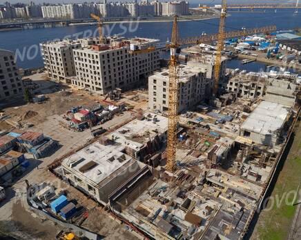 ЖК «Петровская доминанта»: ход строительства, Июнь 2020