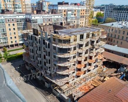 ЖК «Октавия»: ход строительства, Июнь 2020
