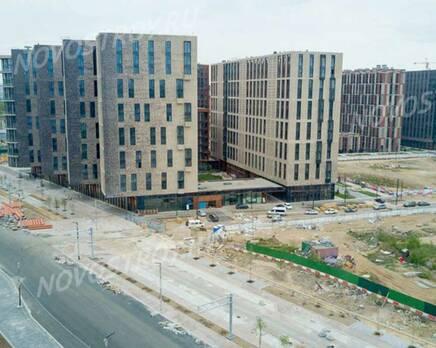 ЖК «ЗИЛАРТ»: ход строительства дома №2, Июнь 2020