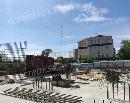 ЖК «Расцветай на Обской»: ход строительства, Июнь 2020