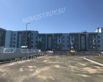 МЖК «Новое Сертолово»: ход строительства 2 очереди, Июль 2020
