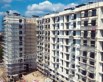 ЖК «Дом у Каретного»: ход строительства, Июль 2020