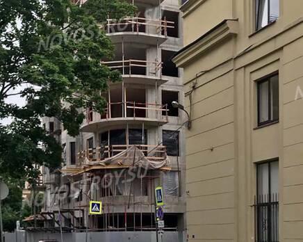 ЖК «Октавия»: ход строительства, Июль 2020