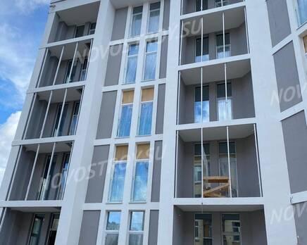 ЖК White.House: ход строительства (июль 2020), Август 2020