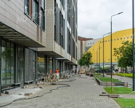 ЖК «Life-Лесная»: ход строительства, Август 2020