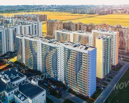 ЖК «Краски лета»: ход строительства дома №15, Август 2020