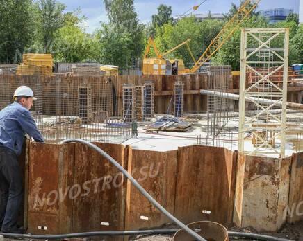 ЖК «Alter»: ход строительства, Август 2020