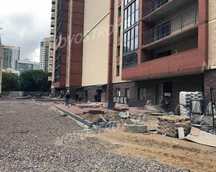 ЖК «Оазис»: ход строительства, Август 2020