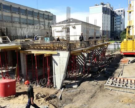 МФК «Одоевский апарт»: ход строительства, Август 2020