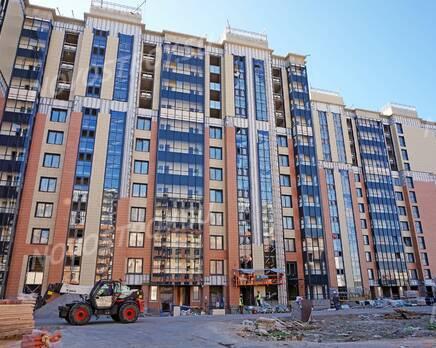 ЖК «Новый Лесснер»: ход строительства корпуса №1, Сентябрь 2020