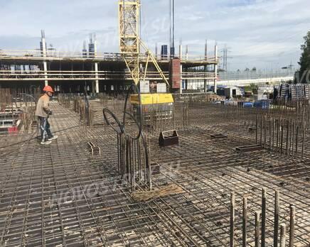 ЖК «Ойкумена»: ход строительства, Сентябрь 2020