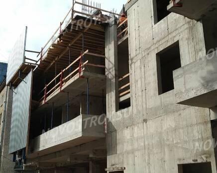 ЖК «Клубный дом Б57»: ход строительства, Сентябрь 2020