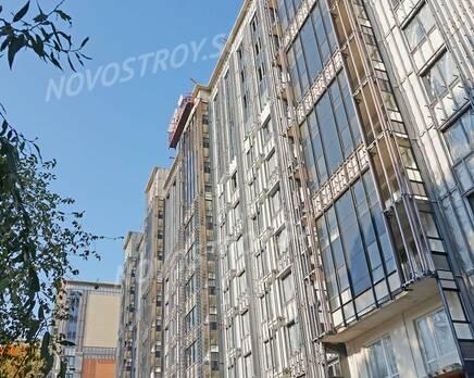 ЖК «Новый Лесснер»: ход строительства корпуса №1, Октябрь 2020