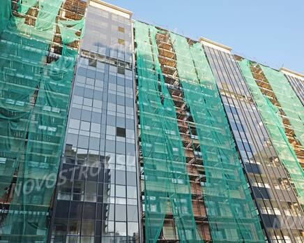 ЖК «Новый Лесснер»: ход строительства корпуса №4, Октябрь 2020