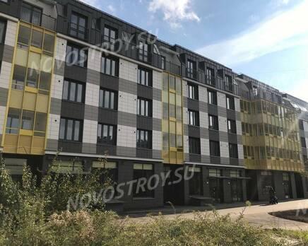 ЖК «Наутилус»: ход строительства корпуса №1, Октябрь 2020