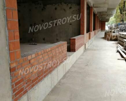 ЖК «Клубный дом Б57»: ход строительства, Октябрь 2020