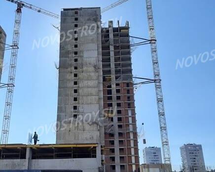 ЖК «Поэт»: ход строительства корпуса №10, Октябрь 2020