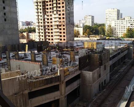ЖК «Поэт»: ход строительства корпуса №13, Октябрь 2020