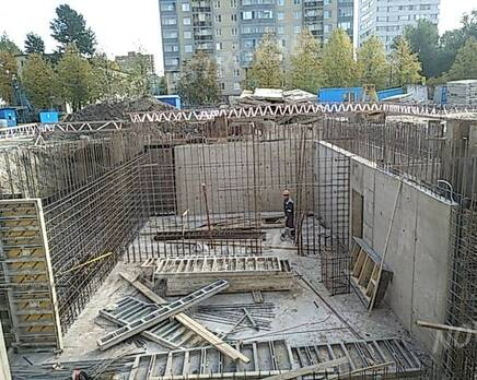 ЖК «Поэт»: ход строительства корпуса №14, Октябрь 2020