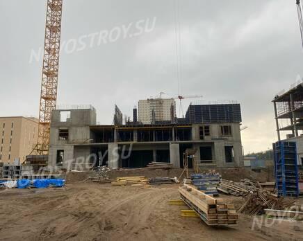 ЖК «Ойкумена»: ход строительства, Октябрь 2020