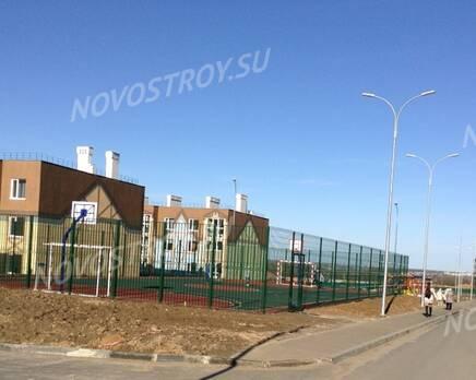 МЖК «Кошелев-проект»: вид на микрорайон, Октябрь 2020