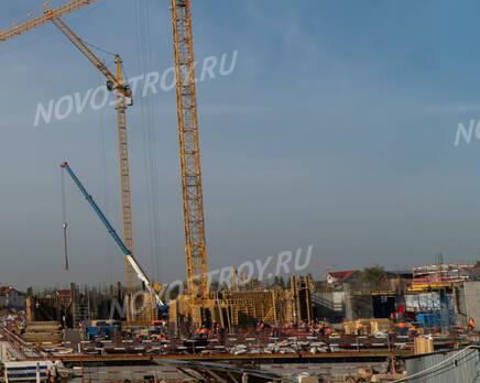 ЖК «Homecity»: ход строительства, Октябрь 2020