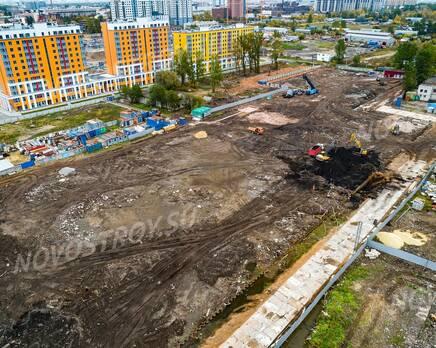 ЖК «Квартал Галактика»: ход строительства, Ноябрь 2020