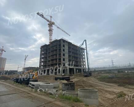 ЖК «Ойкумена»: ход строительства, Ноябрь 2020