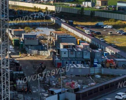 ЖК «UP-квартал «Московский»: ход строительства, Ноябрь 2020