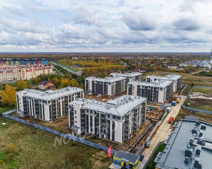 ЖК «UP-квартал «Пушкинский»: ход строительства, Ноябрь 2020