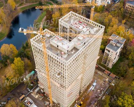 ЖК «Институтский, 16»: ход строительства, Ноябрь 2020