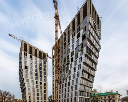 ЖК «White Khamovniki»: ход строительства, Ноябрь 2020