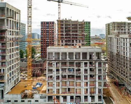 ЖК «Now. Квартал на набережной»: ход строительства, Ноябрь 2020