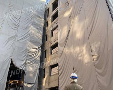 ЖК «Villa Grace»: ход строительства (октябрь 2020), Декабрь 2020