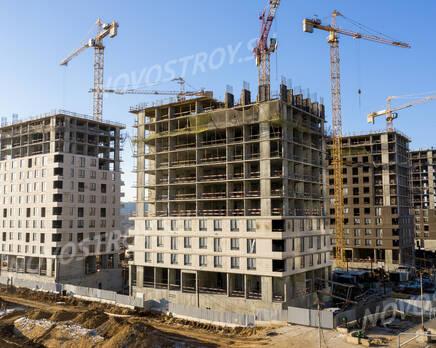 ЖК «Holland park»: ход строительства корпуса №10, Декабрь 2020