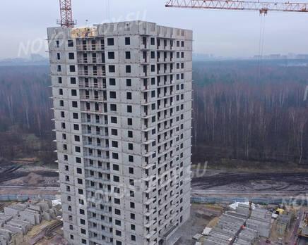 ЖК «Заповедный парк»: ход строительства дома №1, Декабрь 2020