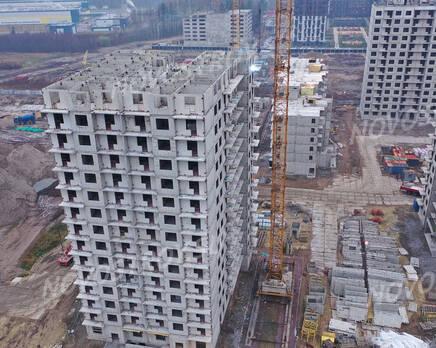 ЖК «Заповедный парк»: ход строительства дома №2, Декабрь 2020
