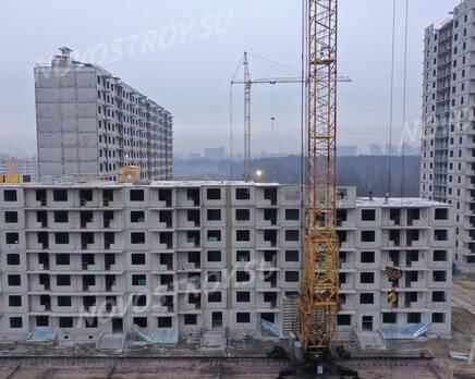 ЖК «Заповедный парк»: ход строительства дома №3, Декабрь 2020