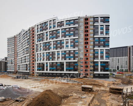 ЖК «Авиатор» (Девяткино): ход строительства, Декабрь 2020