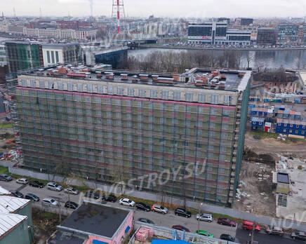 ЖК «Riviere Noire»: ход строительства дома №2, Декабрь 2020