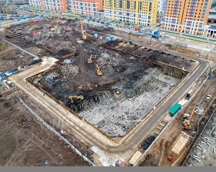 ЖК «Квартал Галактика»: ход строительства, Декабрь 2020