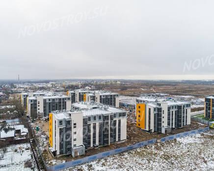 ЖК «UP-квартал «Пушкинский»: ход строительства, Декабрь 2020