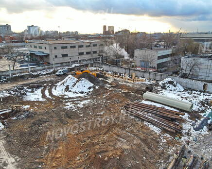 ЖК «Profit»: ход строительства корпуса №8, Декабрь 2020
