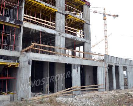 ЖК «Nagatino i-Land»: ход строительства, Декабрь 2020