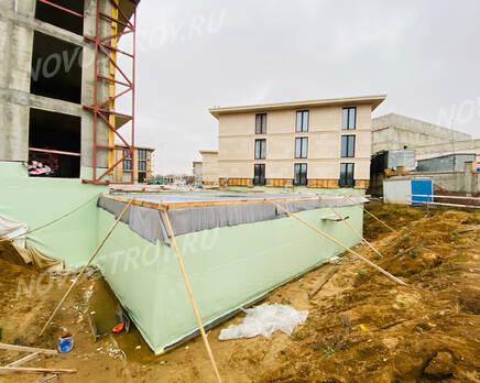 МФК «River Residences в Серебряном Бору»: ход строительства, Декабрь 2020