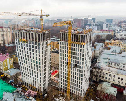 ЖК «White Khamovniki»: ход строительства, Декабрь 2020