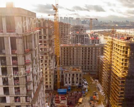 ЖК «Now. Квартал на набережной»: ход строительства, Декабрь 2020