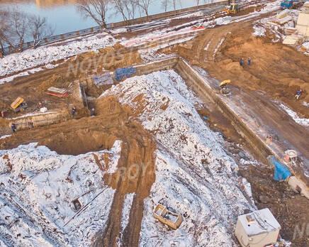 ЖК «Foriver»: ход строительства, Декабрь 2020