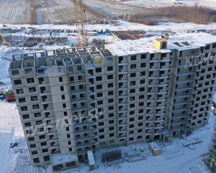 ЖК «Заповедный парк»: ход строительства дома №3, Январь 2021